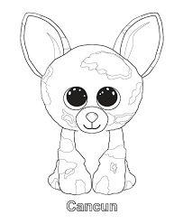 Ty Beanie Boos Pet Shop Coloring