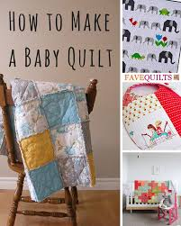 How to Make a Baby Quilt: 10 Free Baby Quilt Patterns + DIY Shower ... & Quilting for Baby Adamdwight.com