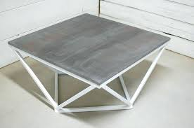 zinc top round dining table coffee table square coffee table zinc top end table antique coffee