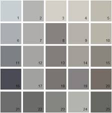 benjamin moore paint colors grayBenjamin Moore Paint Colors  Gray Palette 09  House Paint Colors