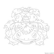 Pokemon Coloring Pages Mega Venusaur Coloring Page Pages Colouring