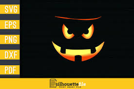 On our site you can download halloween font free. 1 Halloween Pumpkin Scary Face Decal Designs Designs Graphics