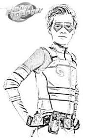 Kid Danger Da Colorare Henry Danger Coloring Pages Printable