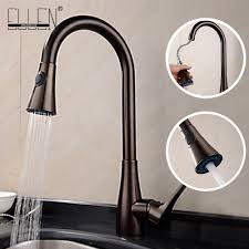 2019 Kitchen Faucet Oil Rubbed Bronze Kitchen Sink Taps Pull Out