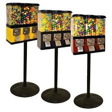 Triple Pod Candy Vending Machine