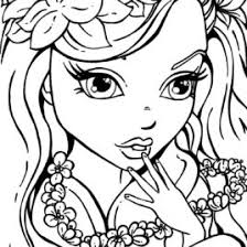 Small Picture Coloring Pages Free Coloring Pages Of Cute Girls Good Looking
