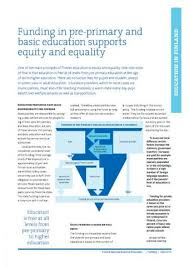 supports images funding in pre primary and basic education supports equity