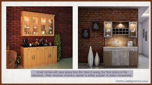Small Crockery Unit Designs Modern Crockery Cabinet Designs For Dining Room And Living