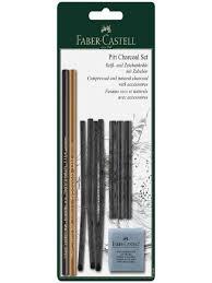 """<b>Набор угля и угольных</b> карандашей """"Pitt Charcoal"""" 10 предметов ..."""