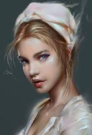 Digital Portrait Painting 470 Best Digital Painting Portraits Characters Images Art