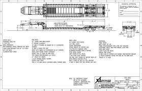 abs diagram lowboy trailers product wiring diagrams \u2022 53' trailer loading diagram 2018 xl specialized 65 ton lowboy with jeep booster for sale rh mylittlesalesman com 53ft trailer diagram cozad lowboy trailers