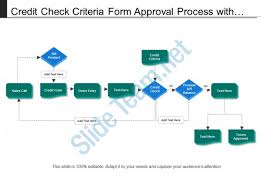 Credit Check Release Form Unique Credit Check Criteria Form Approval Process With Boxes And Arrows