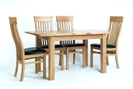 full size of oak round dining table 6 chairs est solid wood and leather sets for