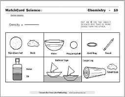 Worksheet On Density Free Worksheets Library | Download and Print ...