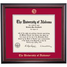 alabama school color traditional for law degree diploma frame  alabama school color traditional for law degree diploma frame