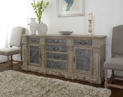 distressed white washed furniture. Wood Distressed Sideboard White Washed Furniture A