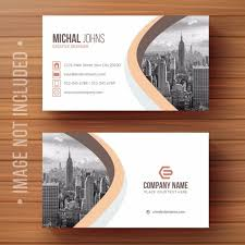 Card Design Template Creative Business Card Design Template For Free Download On