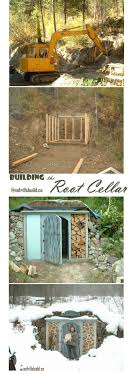 Building the Root Cellar - a project, from start to finish... Alternative