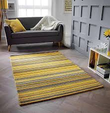 carter wool rugs yellow grey