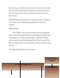 diploma project abstract sensitive lpg gas leakage alarm auto cu  2