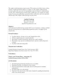 Cna Objective For Resume Best of Objective For Cna Resume Resume Objective Statement Examples