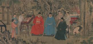 scholar officials of essay heilbrunn timeline of art elegant gathering in the apricot garden