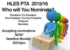 Pta Elections Flyer Who Will You Nominate Harmony Leland Elementary School Pta