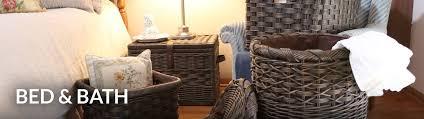 Bed U0026 Bath Wicker Storage Baskets