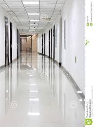 office hallway. Curved Office Hallway A