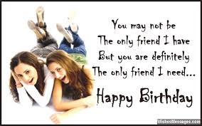 Birthday Wishes For Best Friend Female Quotes Adorable Birthday Wishes For Best Friend Quotes And Messages