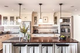 Pendant Lighting Over Island With 55 Beautiful Hanging Lights For Your  Kitchen And 1 Dazzling Above A White Dark Granite Top On Category 600x397  600x397px