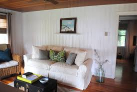 Painted Knotty Pine House By Holly Beach Bunker Tour