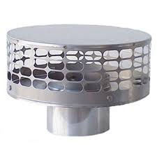 the forever cap guard liner top 4 in round fixed stainless steel chimney cap