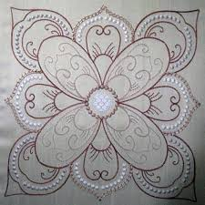 Best 25+ Candlewicking patterns ideas on Pinterest | Punched tin ... & Embroidered Quilts Patterns Embroidered Quilt Block Designs Hand Embroidery  Baby Quilt Patterns Candlewicking Quilt Patterns Kennykreations Machine ... Adamdwight.com