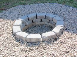 Stacked Stone Fire Pit outdoor stone fire pit about fire pit stones the latest home 2361 by xevi.us
