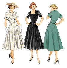 Retro Dress Patterns Beauteous Vintage Style Divine Stitches Page 48