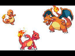 pokemon fire red charmander evolves to