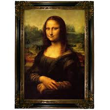 historic art gallery mona lisa by leonardo da vinci framed painting print reviews wayfair