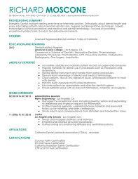 Importance Of A Resume Dental Assistant Resume Sample Importance