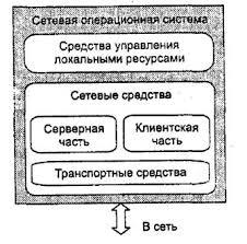 Сетевые операционные системы Основные функциональные компоненты сетевой операционной системы