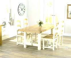 cream and wood table and chairs oak dining table set oak dining table and chair amusing cream and wood