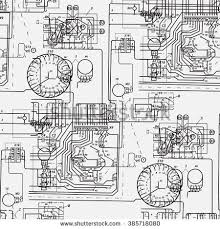 wiring diagram stock images royalty images vectors abstract seamless pattern on the theme of science and electrical engineering black fantastic wiring diagram
