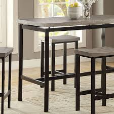 modern contemporary dining furniture eurway intended for bar height table plans 11