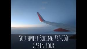 Southwest Airlines Boeing 737 700 Seating Chart Southwest Boeing 737 700 Cabin Tour
