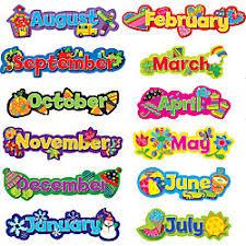 creative teaching press poppin patterns seasonal months of the year mini bulletin board set bulletin board design office