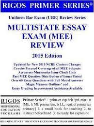 rigos primer series uniform bar exam ube review series rigos primer series uniform bar exam ube review series multistate essay exam mee