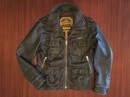 superdry zip er biker as distressed leather jacket premium hide edition brown men s mens superdry hoos new york superdry jackets gorgeous
