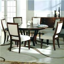 modern round dining table and chairs for 6 i27 dining