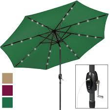 portable usb charger bank 10 led light patio solar umbrella tilt adjustment com