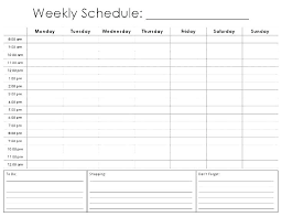 College Weekly Schedule Maker Schedule Maker Template Drag And Drop Builder Home Business